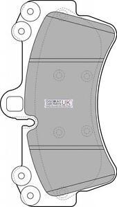 Genuine-Trupart-FRONT-Brake-Pads-To-Suit-Audi-Q7-3-0-TDI-DIESEL