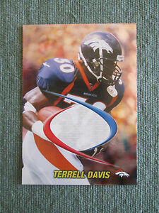 1998-Edge-Odyssey-Prodigies-PROOF-BLANKBACK-ERROR-Terrell-Davis-Broncos