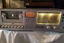 Sharp Stereo Cassette Deck Tape Player Model RT3388 Working Unit