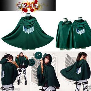 Attack on titan cosplay cape