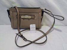 Coach Block Pebbled Leather Stone Swagger Wristlet OR Crossbody 53479 NEW 1Q