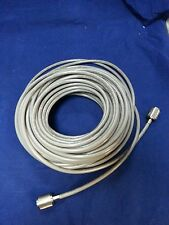 NEW USA MADE RG8X 95% DOUBLE SHEILDED 50FT COAX CABLE CB,HAM,SCANNER PL259'S