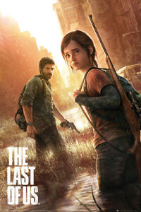 The Last of Us Key Art Gaming Maxi Poster Print 61x91.5cm24x36 inches