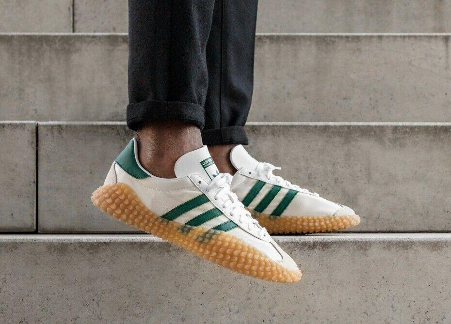 Adidas Mens COUNTRYxKAMANDA Trainers schuhe Weiß Grün G26797 UK 6.5, 8, 9