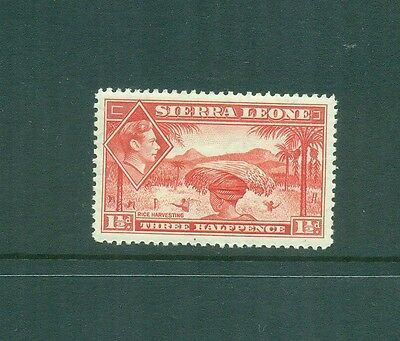 Briefmarken Europa Beliebte Marke Sierra Leone 1938 1 1/2d Kgvi Rice Harvest Mlh Sg190