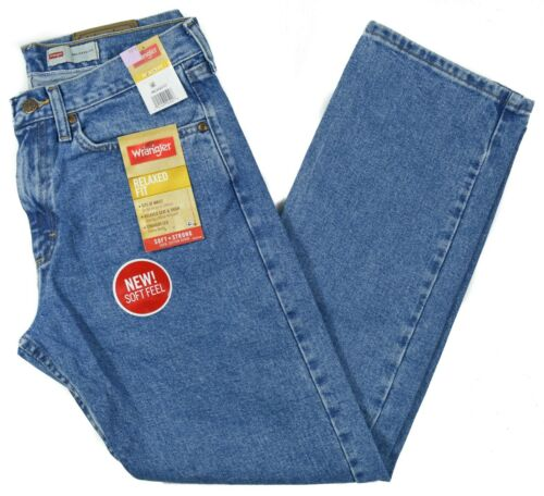 Wrangler #8072 NEUF homme 100/% Coton Coupe Décontractée Coupe Droite Jeans