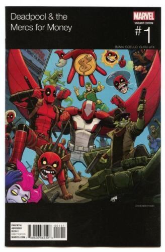 Hip-Hop Variant The Mercs for Money #1 2016 Marvel NM//NM Deadpool