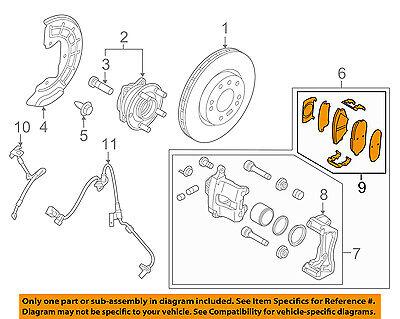 HYUNDAI OEM 11-15 Sonata Brake-Front Pads 581013QA50
