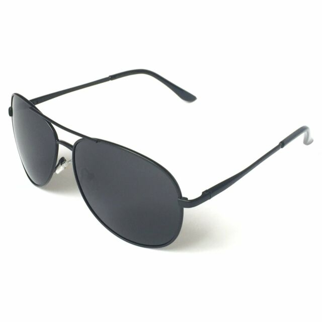2d234b32070 Military Style Sunglasses Classic Aviator Black Fashion Designer UV  protection
