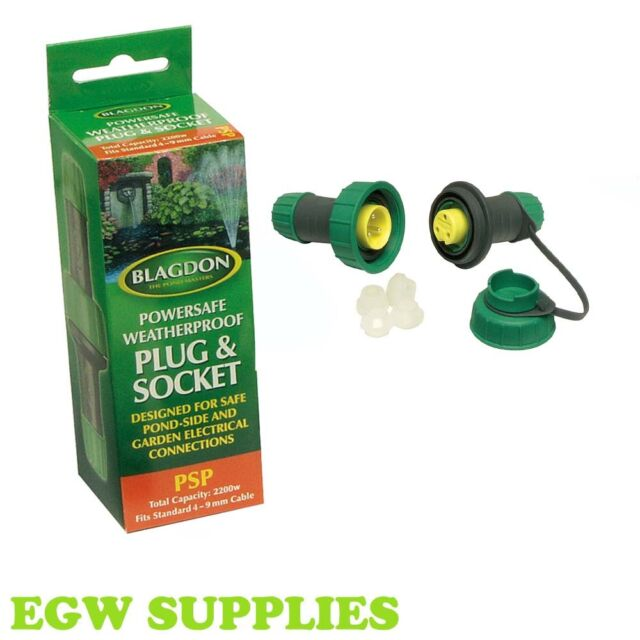 Blagdon Powersafe Weatherproof Outdoor Plug and Socket