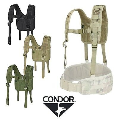 Condor H-Harness Suspenders Quick Attachements Webbing Free UK Shipping 215