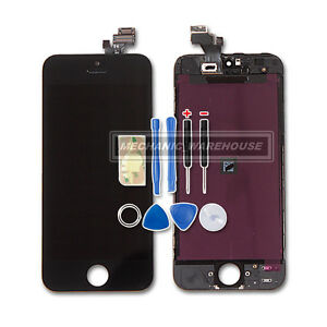 Apple-iphone-5-5G-lcd-touch-screen-digitizer-display-glass-lens-replacement-AU