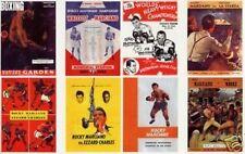 Rocky Marciano program cover trading card set