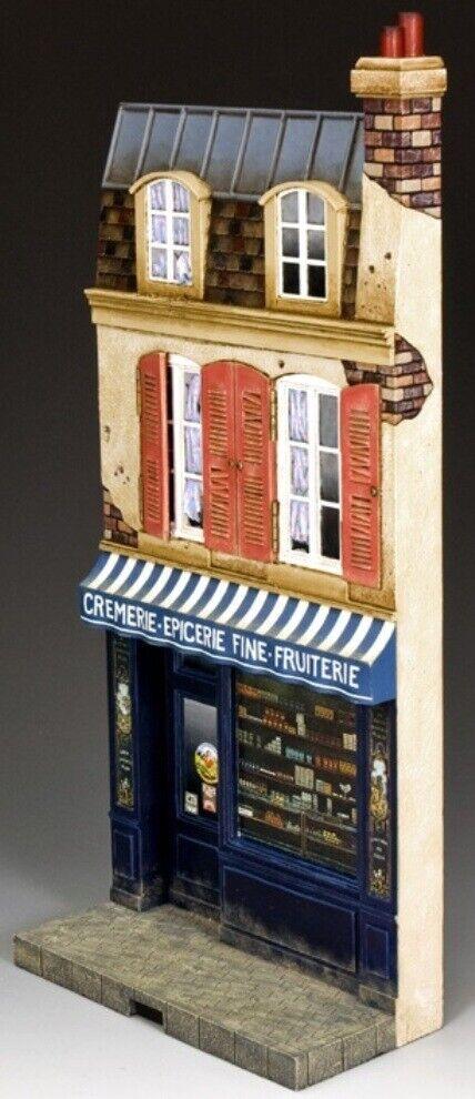King & Land Diorama Sp056 La Cremerie MIB  | Qualität und Verbraucher an erster Stelle