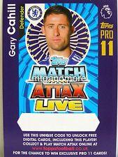 Match Attax 2016/17 Premier League - Gary Cahill - Online Code
