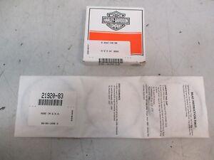 Harley Davidson Piston Ring Kit  XL FL FX models 21920-83