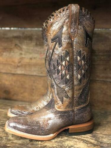 New Ariat Women/'s Arroyo Brushed Metallic Arrow Western Cowboy Boots 10031431