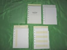 Classic 6 Month Undated Refill Gray Tab Page Lot Franklin Covey Day One Planner