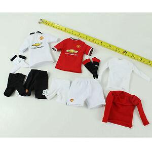 TC28-11 1//6th Manchester United No.8 Soccer Shorts w// Socks