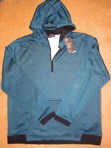 4e5d774b082 Men s 2XL Under Armour ColdGear quarter zip Fitted Fleece Hoodie ...