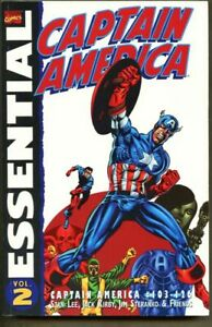 GN-TPB-Essential-Captain-America-Volume-2-vf-nm-9-0-Jack-Kirby-1st-Edition-2002