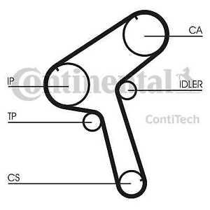 Contitech-Continental-Courroie-de-Distribution-Arbre-CT897-Veritable-5-An