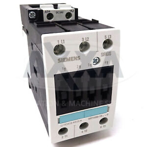 3 POLE NEW* #105094 CONTACTOR 12A 24VDC SIEMENS 3RT1024-1BB40