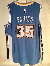 Adidas Swingman 2015-16 NBA Jersey Denver Nuggets Kenneth Faried Light Blue sz L