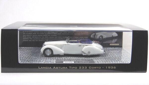 Lancia Astura typo 233 corto (bianca) 1936