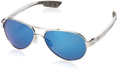 b31a98c789a Costa Del Mar Loreto Palladium Blue Mirror 580p Sunglasses for sale ...