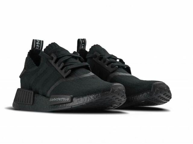 19213c9beb4c5 adidas NMD R1 PK Triple Black Japan US 10.5 100 Authentic Bz0220 for ...