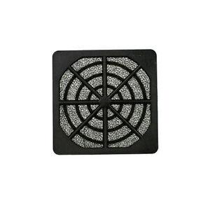 EverCool-FGP-60-60mm-Plastic-Fan-Filter-amp-Grill-Black