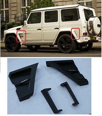 Mercedes - Benz W463 G-class BODY KIT G63 side fenders VENTS B-style