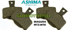 ASHIMA - SET 4 PASTIGLIE ORGANICHE COMPATIBILI MAGURA MT2-MT8.