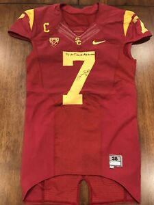 Details about TJ McDonald Game Used USC Trojans Jersey Game Worn Jersey