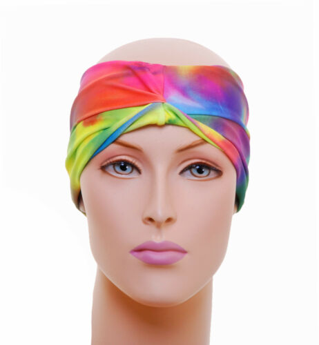 *MANY DESIGNS AVAILABLE* Lycra Freetyle Disco Head Band 5/'/' Width