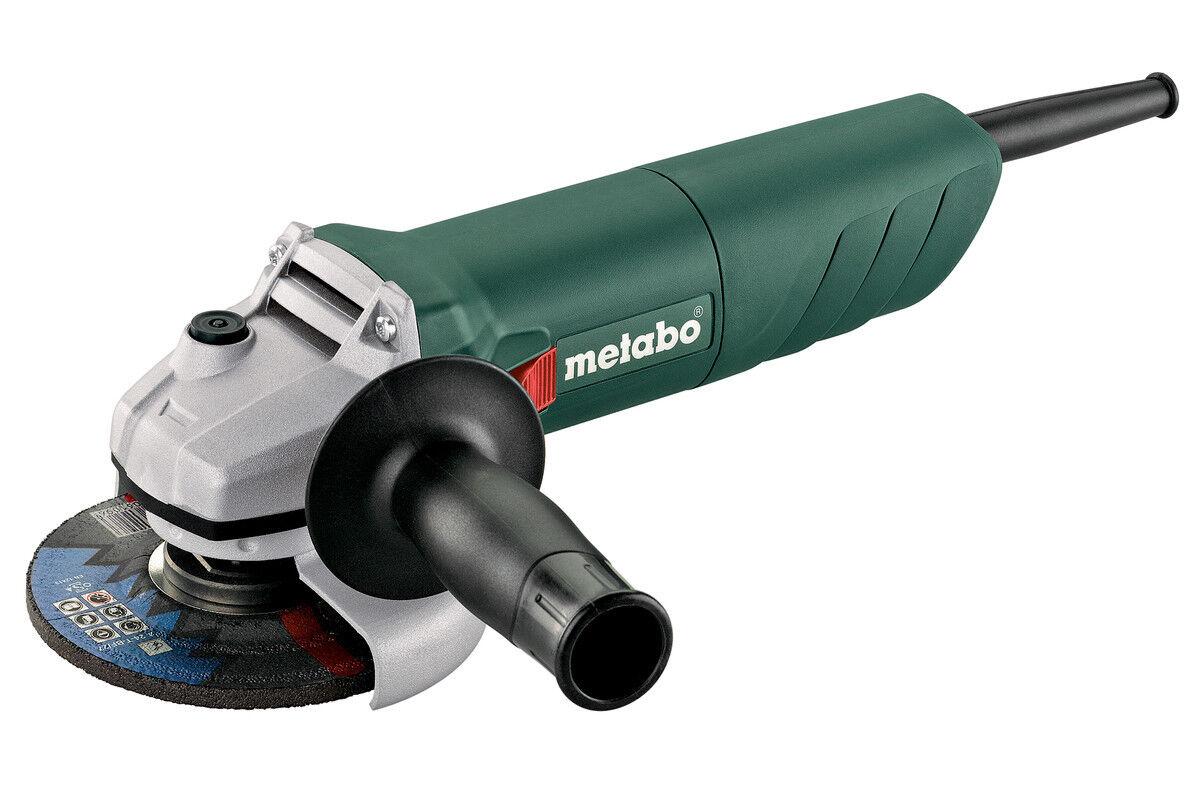 Metabo Winkelschleifer W 750 125 mm 750 W robust universell Wiederanlaufschutz