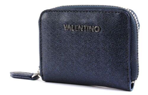 VALENTINO by Mario Valentino Marilyn Coin Purse Geldbörse Blu Blau Neu