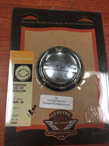 Harley Davidson Sportster Fuel Cap Medallion 99676-04