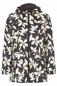 08492ce0 Ex Chainstore Floral Printed Pack Away Mac RainCoat Jacket Size 10 ...