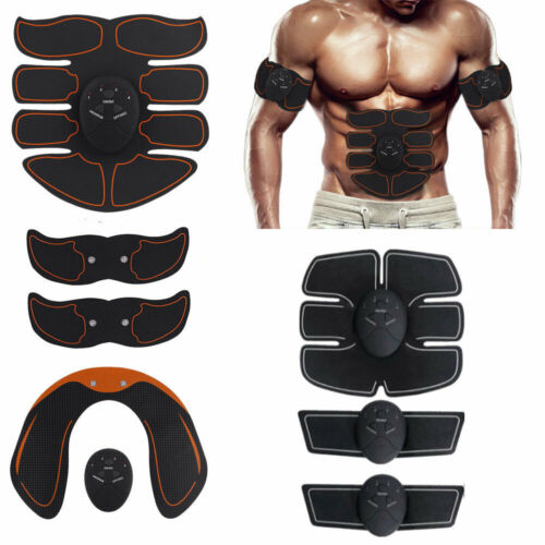 EMS Hip Trainer Electric Muscle Stimulator Buttocks Abdominal Full Body Kits US