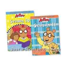 Arthur PBS TV Show Series Complete Seasons 10 & 11 Box / DVD Set(s) NEW!