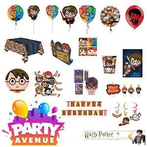 Harry-Potter-favorise-Party-Supplies-Ballons-Confettis-theme-fete