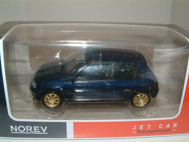 RENAULT CLIO WILLIAMS 1993 BLUE Norev Collectors Die Cast 1//43 Nuovo New