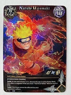 - Limited 1 PrismCard Custom Card Game CCG Naruto Uzumaki Naruto Fan