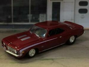 Details About 1969 69 Chevrolet Camaro Ss 396 V 8 Muscle Car 1 64 Scale Limited Edition Y15