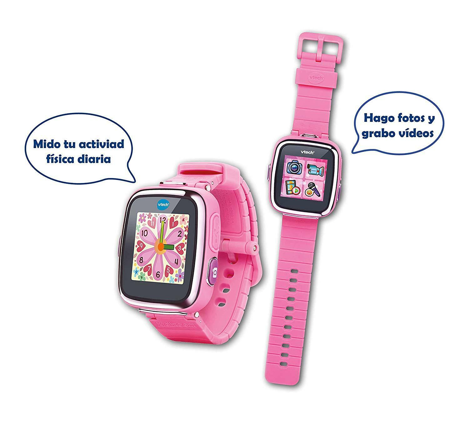 VTech Kidizoom Reloj Inteligente Interactivo DX Fotos y Video Version Española