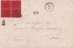 PONTIFICIO-lettera-con-RARA-quartina-del-10c-1868-DOPPIO-Certificato