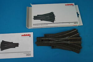 Marklin-24630-Three-Way-Turnout-188-3-mm-24-3-degrees-C-Track