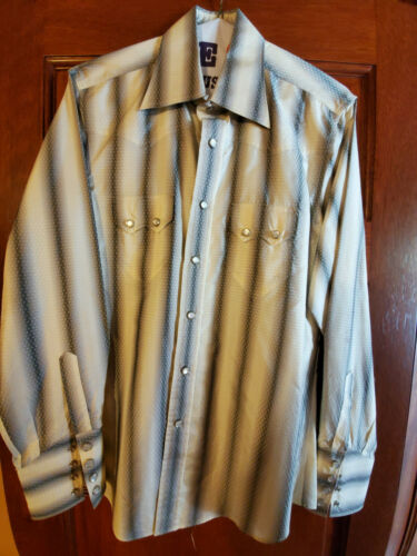 Gucci Men's Silk Western shirt